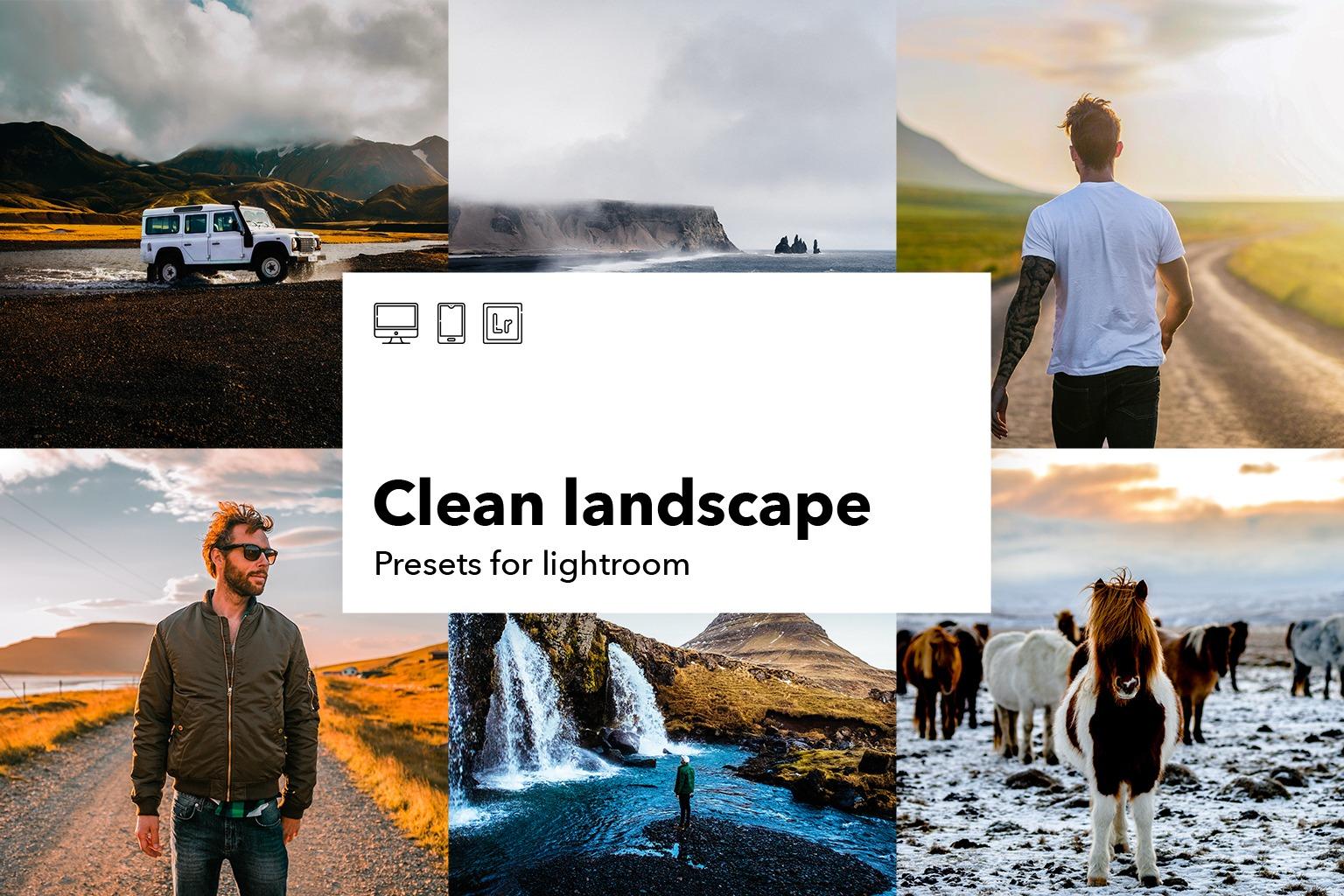 Clean landscape