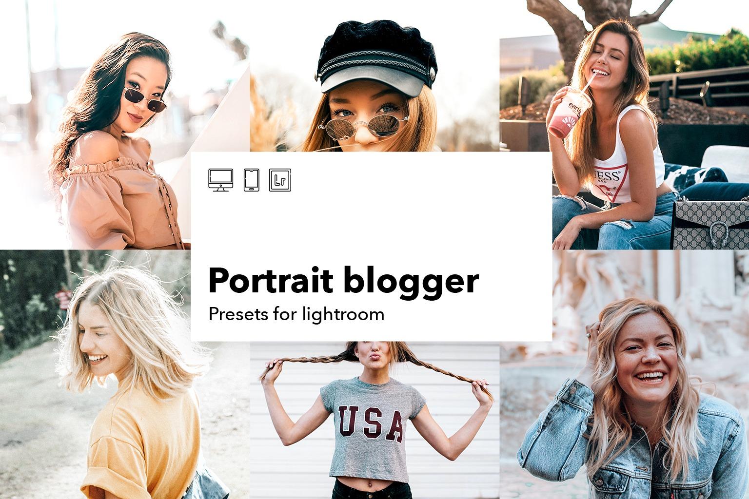 Portrait blogger