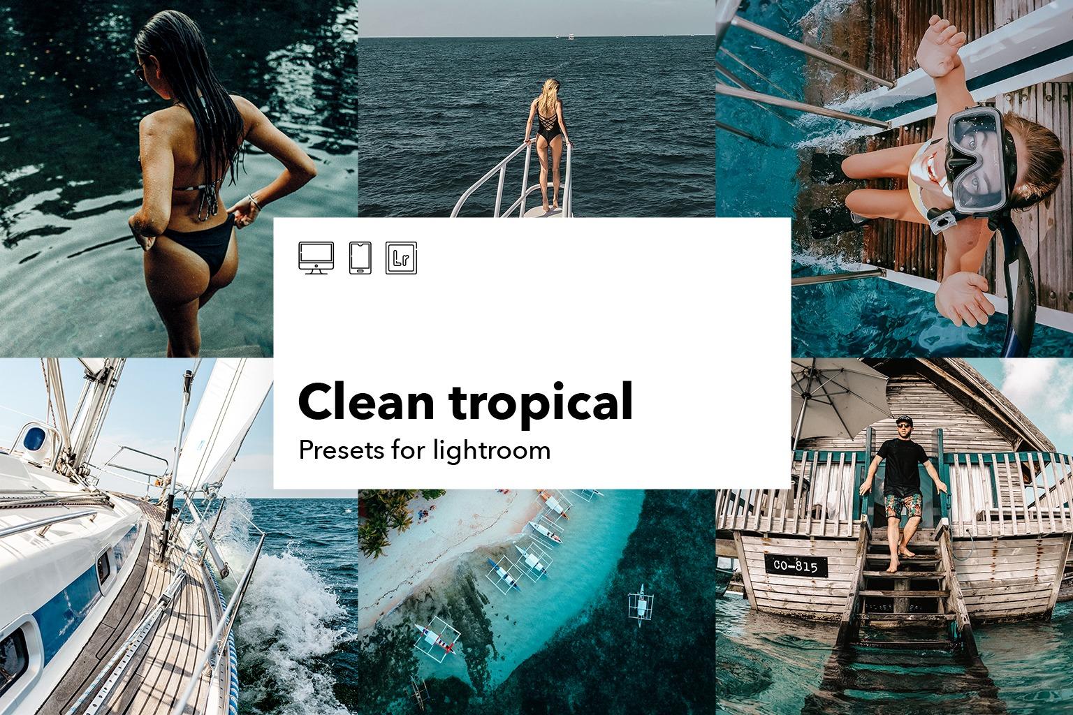 clean tropical