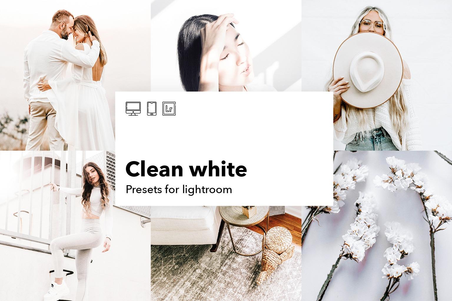 clean white