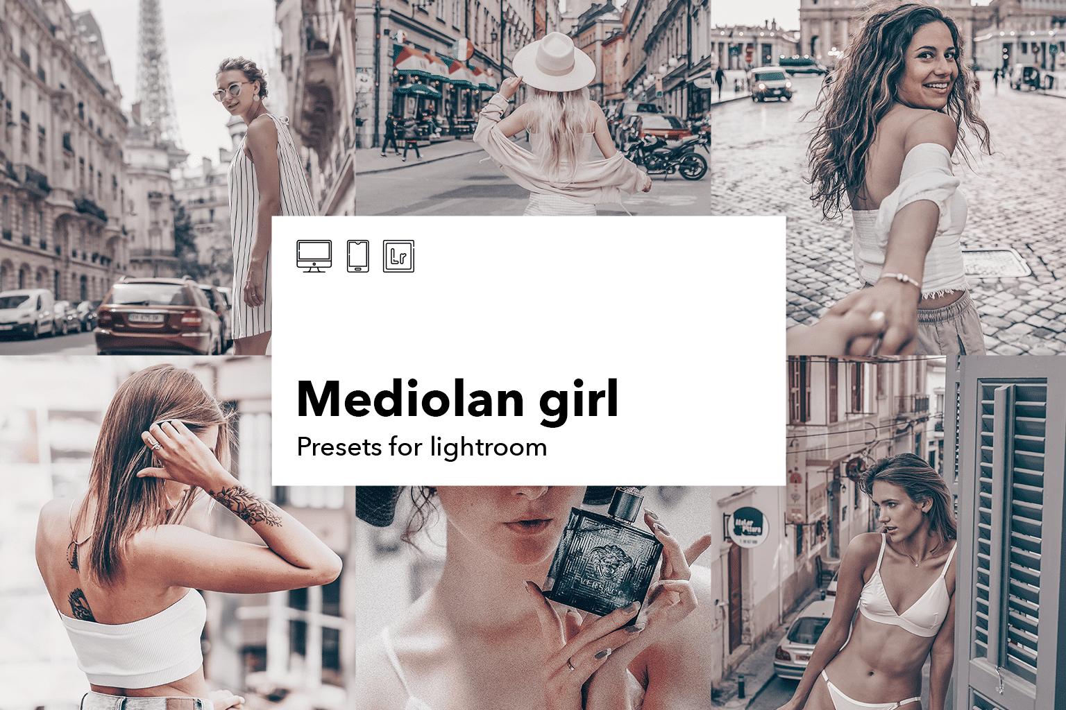 Mediolan-girl