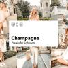 Champagne - kolekcja presetów lightroom (desktop i mobile)